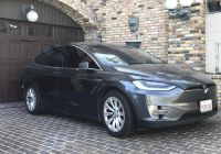 Tesla Split In Half Lovely Tesla Model X with Extreme Mileage Racked Up $29 000 In