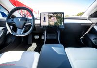 Tesla Streaming Music Elegant Lyrics Center Interior A Tesla 3