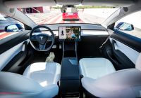 Tesla Streaming Music Inspirational Lyrics Center Interior A Tesla 3