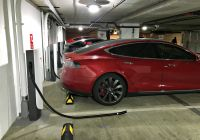 Tesla Supercharger Fresh Teslas Urban Supercharger Can Be Wall Mounted and