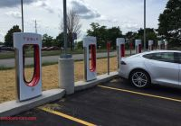 Tesla Supercharger Luxury New Tesla Superchargers Promise 50 Percent Faster Charging