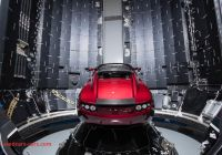 Tesla to Mars Awesome Spacex Just Launched the Worlds Most Powerful Rocket and