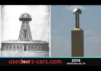 Tesla tower Unique Tesla tower Wireless Electricity Milford Texas Youtube