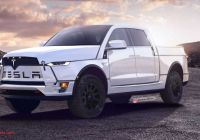 Tesla Truck Inside Luxury Tesla Electric Pickup Truck to Be Called Model B