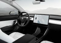 Tesla Truck Interior Lovely Model 3