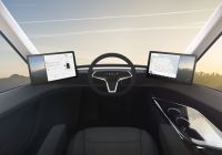 Tesla Truck Reveal Beautiful Elon Musk Reveals Tesla S Electric Semitruck