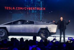 Unique Tesla Truck Reveal