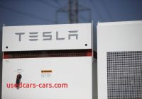 Tesla Unit Fresh Tesla Inc Powerpack Units at the southern California