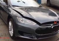 Tesla Usa Unique Tesla Model S 85 Salvage Cars From Usa Youtube
