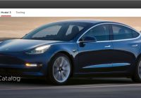 Tesla Video Luxury Tesla Releases Parts Catalog for Model 3 Model S Model X