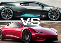 Tesla Vs Bugatti Best Of 2019 Bugatti Divo Vs 2020 Tesla Roadster Youtube