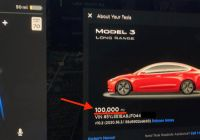Tesla Warranty Model 3 Beautiful Tesla Model 3 with 100 000 Miles Shows Extreme Low Cost and