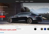 Tesla Website New Tesla Adds Certified Pre Owned Vehicles Section to their