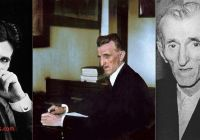 Tesla who is He Elegant Nikola Tesla In His 40s 50s and the Year He Died 1943