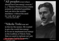 Tesla who is He Luxury He Applied Science to Human Concerns and Applied No