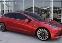 Tesla who Makes the Car Luxury Consumer Reports Analyst Says Model 3 Could Be Teslas
