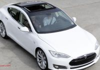 Tesla who Makes them Beautiful Tesla Prices Model S Makes Navigation Optional Roadshow