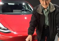 Tesla who Owns Fresh 96 Year Old Auto Mechanic and Racing Legend now Owns A