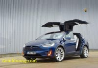 Tesla with Gullwing Doors Awesome Tesla Model X Review 2017 Autocar