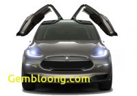 Tesla with Gullwing Doors Beautiful Tesla to Launch Suv with Gull Wing Doors Psfk