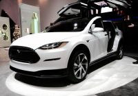 Tesla with Gullwing Doors Elegant Teslas Mass Market Model 3 Will Be Available as A