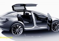 Tesla with Gullwing Doors Inspirational Tesla Model X and the Curse Of Gull Wing Doors