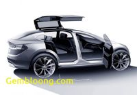 Tesla with Gullwing Doors Luxury Tesla Model X software Update Turns Gullwing Into