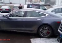 Tesla without Driver Lovely Selfparking Tesla without Driver Youtube