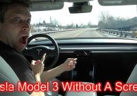 Tesla without Driver Luxury Can You Drive A Tesla Model 3 without A Screen