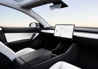 Tesla without Driver Unique Tesla Shows Off Car with No Steering Wheel