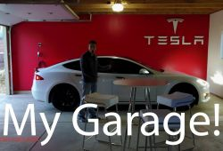 Inspirational Tesla without Garage