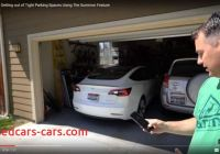 Tesla without Garage Lovely Tesla Model 3 Getting Out Of Tight Garage Using the Summon