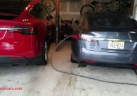 Tesla without Garage New Tesla Model X Model S Charging In Garage Youtube