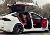 Tesla X for Sale Beautiful A Custom Tesla Model X with A Bentleys Interior Goes On