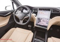 Tesla X Interior Fresh 2016 Tesla Model X 75d First Test Review Motor Trend