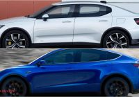 Tesla Y Vs X Awesome Tesla Model Y Versus Polestar 2 top Speed