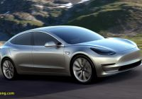 Tesla Z Unique 2017 Tesla Model 3 Technical Specifications and Data