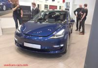 Tesla Zaventem Awesome Tesla Model 3 Reaches European Tesla Stores to A Jam