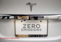 Tesla Zero Emissions Elegant In 2040 All New Cars sold In California Would Be Emission