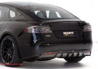 Tesla Zero Emissions Lovely Cut the Emissions with the Brabus Tesla Model S