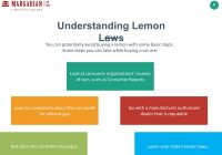 "Texas Lemon Law Used Cars Luxury What is ""the Lemon Law"" 2 Table Of Content the Idea Of Lemon Law"