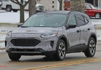 The 2020 ford Escape Fresh 2020 ford Escape Spied Inside and Out Hybrid Confirmed