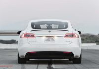 The First Tesla Unique A Closer Look at the 2017 Tesla Model S P100d S Ludicrous