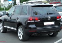 Touareg V6 Unique Filevw touareg I V6 3 0 Tdi Facelift Rear 20100519