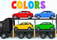 Toy Car for Child Best Of Colors for Children to Learn with Car Transporter Car toys Colours