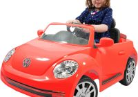 Toy Car for Child Lovely Rollplay Vw Beetle 6 Volt Ride On Vehicle toys Games