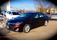 Toyota Avalon Won't Start Lovely 2013 toyota Avalon Limited Start Up Review Exhaust