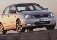 Toyota Corolla 2005 Best Of south Africa 2004 2005 Corolla 1 Citi Golf and Tazz In