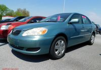 Toyota Corolla 2005 New Pre Owned 2005 toyota Corolla Le 4dr Car In East