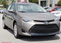 Toyota Corolla Features Awesome New 2019 toyota Corolla Le 4dr Car In Clermont